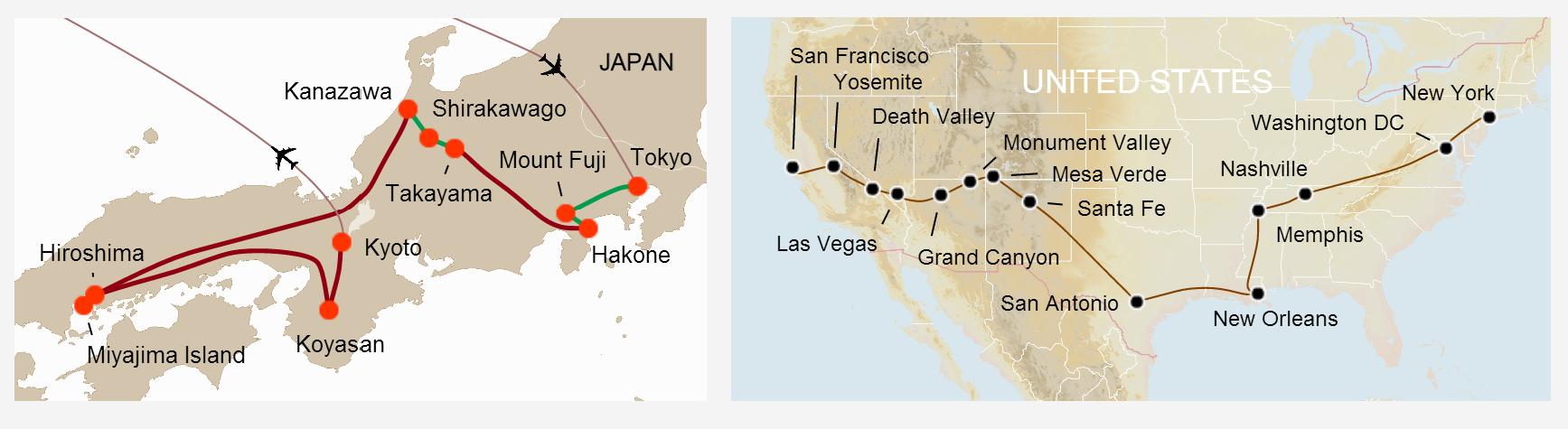Travel Itinerary Maps IgemoeIgemoe